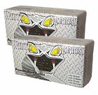 WHITE MAMBA Gloves Latex Disposable 8 mil Thick Powder Free Houskeeping Heavy
