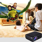 LOT Portable 7000 Lumens 3D LED HD 1080p Projector Home Cinema HDMI USB SD VGA J