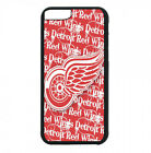 Detroit Red Wings Phone Case For iPhone X XS Max 8 8+ 7 6 Plus 5 Black TPU Cover $13.95 USD on eBay