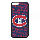 Montreal Canadiens Phone Case For iPhone X XS Max 8 8+ 7 6 PLUS Black TPU Cover $13.95 USD on eBay