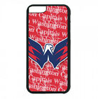 Washington Capitals Phone Case For iPhone X XS Max 8 8+ 7 6 Plus 5 4 Black Cover $13.95 USD on eBay