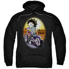 Betty Boop Wild Biker Pullover Hoodies for Men or Kids $33.28 USD
