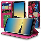 For Samsung Galaxy Note 8 Design Wallet Credit Credit Slots Pouch Cover Case