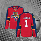 Florida Panthers 1 Men Roberto Luongo Premier Hockey Jersey Red All Size