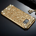 Luxury Bling Glitter Diamond Soft Silicone Case Cover For iPhone Samsung Galaxy