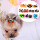 20/40/100pcs Cute Pet Puppy Dog Hair Bows Halloween Grooming Accessories Yorkie