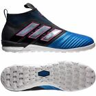 Mens Adidas Ace Tango 17+ PURECONTROL Indoor Soccer Shoes 7.5 Black Blue BY2820