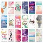 Quote be happy trust believe In yourself relax soft case for IPhone 5 6 7 8 X XS