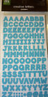 NEW CHUNKY CREATIVE LETTERS Alphabet *Your Choice* ABC MAKING MEMORIES Stickers