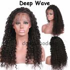 Natural Indian Virgin Human Hair Lace Front Wig Hand Tied Full Lace Baby Hair TB