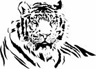 Tiger 2...Home Decor, Wall Decals, Wall Transfers, Home Art & Decoration.