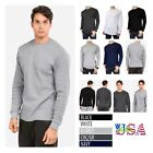 Mens Long Thermal T-Shirt Crew Neck Casual Outdoor Sweatshirt  Sweater Underwear image