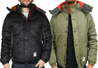 NEW MEN'S DESIGNER BELLFIELD 'GULEN' WARM WINTER HOODED PADDED COAT