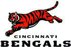 Cincinnati Bengals Football Decal Sticker Self Adhesive Vinyl