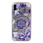 Rubber Patterned Clear Soft TPU Cute Back Cover Case For Various Phone
