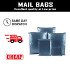 Strong Metallic Blue Poly Postal Mailing Bags Plastic Postage Mailers Post Sack
