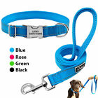 Personalized Dog Collars and Leash Custom Dog ID Name Collar