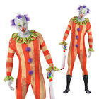 Christys Dress Up Adults Partysuit Killer Halloween Fancy Dress Clown Costume
