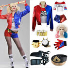 Adult Harley Quinn Ladies Costume Halloween Suicide Squad Women Fancy Dress 2017