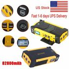 LED 82800mAh Portable Car Jump Starter Pack Booster Charger Battery Power Bank J