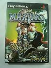 Maximo Ghosts to Glory PlayStation 2 PS2 COMPLETE EXCELLENT CONDITION