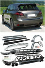 GTS Style Front Lip Rear Diffuser Side Skirts Spoiler For 11-14 Porsche Cayenne