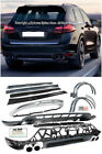 GTS Style Front Lip Rear Diffuser Valance Spoiler Lip For 11-14 Porsche Cayenne