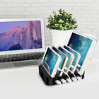 ELE 5 Port USB Smart Charging Station Stand Desktop Charger Dock F Phone Tablet
