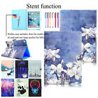 Smart Leather Case Wallet Stand Lovely Painting Cover For Ipad Air 2/mini 1 2 3