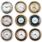 11 New Designed Finest 3D Atomic Style Metal Wall Clock, Convex Glass Lens