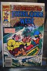 An American Tail Fievel Goes West #1 Marvel Comics Movie Adaptation 1991