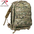 Rothco Tactical MOLLE II 3-Day Military  Assault  Backpack 7 Colors 40169