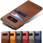 New Slim Leather Case Card Holder Skin Cover For Samsung Galaxy Note 8 S8 Plus T
