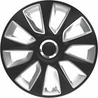 """4X 15"""" INCH STRATOS RC WHEEL TRIMS COVER HUB CAPS FOR LAND ROVER DEFEDNER 130"""