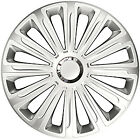 """4X 15"""" INCH TREND RC WHEEL TRIMS COVER HUB CAPS FOR LAND ROVER DEFEDNER 130"""