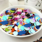 Внешний вид - DIY 20mm Charm Round Loose Sequins Paillettes Sewing Belly Dance Wedding Craft