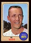Baseball Card 1968 Topps New York Mets Al Weis #313 VG
