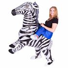 Adult Funny Inflatable Blow Up Carry Ride On Costume Outfit Fat Suit Halloween