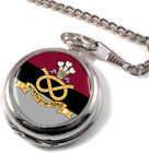 North Staffordshire Regiment Full Hunter Pocket Watch (Optional Engraving)
