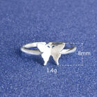 *UK* 925 STERLING SILVER PLT GIFT LADIES ADJUSTABLE OPEN BAND THUMB FINGER RINGS