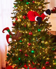 Elf or Santa Legs Stuck in the Tree Festive Fun Christmas Holiday Home Decor New