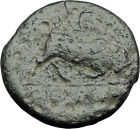 SELEUKOS I Nikator 312BC Genuine Ancient SELEUKID Greek Coin MEDUSA BULL i64364