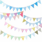 2.5M Multi Colour Bunting Banner Flags Pennant Party Decoration Outdoor