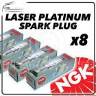 8x NGK SPARK PLUGS Part Number PFR6E-10 Stock No. 3688 New Platinum SPARKPLUGS