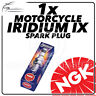 1x NGK Upgrade Iridium IX Spark Plug for HONDA 125cc NES125 @ 00->03 #3797