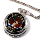 Burns Scottish Clan Pocket Watch