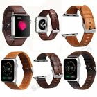 Genuine Leather Band Single Tour Bracelet Watchband For Apple Watch 38/42mm New