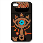 Legend of zelda sheikah slate - Black Custom iphone and samsung case