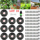 Outdoor Garden Patio Water Misting Cooling System +Mist Sprinkler Nozzles LOT XJ