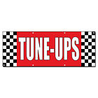 Tune-Ups Auto Body Shop Car Repair 13 Oz Vinyl Banner Sig...